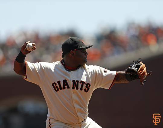 San Francisco Giants, S.F. Giants, photo, 2014, Pablo Sandoval