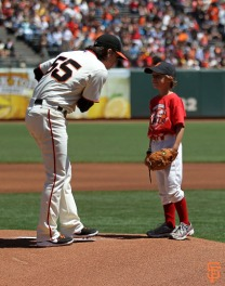 San Francisco Giants, S.F. Giants, photo, 2014, Junior Giants
