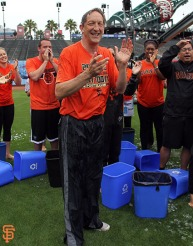 San Francisco Giants, S.F. Giants, photo, 2014, Ice Bucket Challenge
