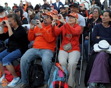 San Francisco Giants, S.F. Giants, photo, 2014, KNBR Night, Marty Lurie