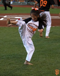 San Francisco, S.F. Giants, photo, 2014, Bruce Lee Night