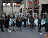 San Francisco Giants, S.F. Giants, photo, 2014, Irish Heritage Night
