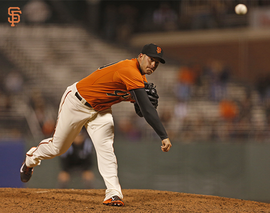 San Francisco Giants, S.F. Giants, photo, 2014, George Kontos