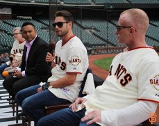 San Francisco Giants, S.F. Giants, photo, 2014, Chris, Algieri, Tim Lane
