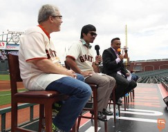 San Francisco Giants, S.F. Giants, photo, 2014, Manny Pacquiao, Freddie Roach