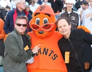 robin williams, at&t park, sf giants, rip, moment of silence