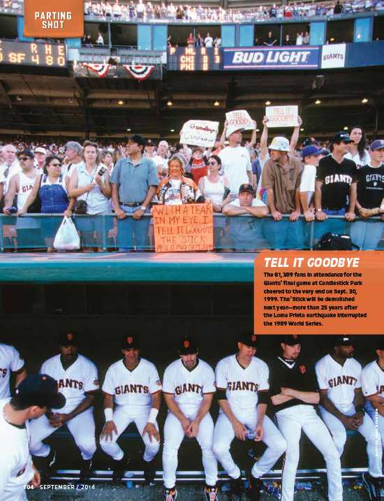 2014 sf giants, magazine