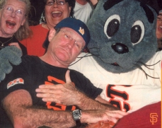 With Lou Seal