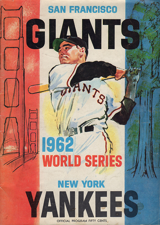 1962 world series, sf giants,  new york yankees