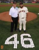 San Francisco Giants, S.F. Giants, photo, 2014, Jim Barr, Yusmeiro Petit