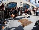 tim lincecum, no hitter, plaque, unveiling, september 13, 2014, sf giants, photo