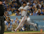 2014 sf giants, photo, september 22, 2014, la dodgers