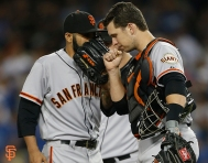 2014 sf giants, photo, september 23, 2014, la dodgers