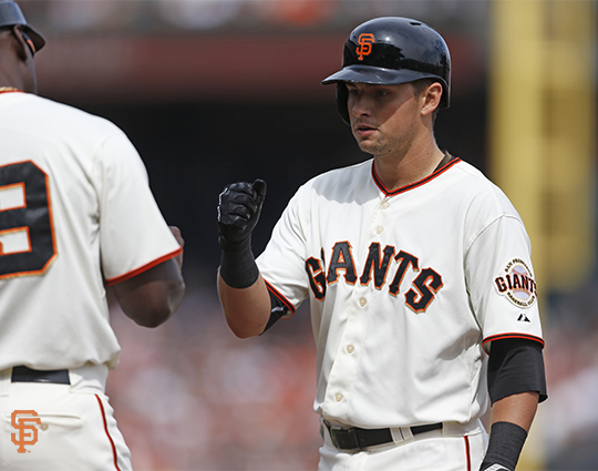 San Francisco Giants, S.F. Giants, photo, 2014, Joe Panik