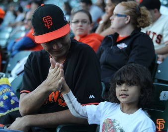 San Francisco Giants, S.F. Giants, photo, 2014, Fans, Wild Card