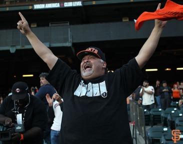 San Francisco Giants, S.F. Giants, photo, 2014, Fans, Wild Card