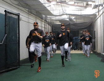 NLCS Work out day
