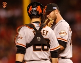 Buster Posey & Hunter Strickland