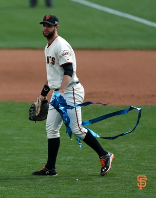 San Francisco Giants, S.F. Giants, photo, 2014, NLCS, Brandon Belt