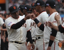 San Francisco Giants, S.F. Giants, photo, 2014, NLCS, Santiago Casilla