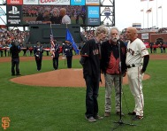 San Francisco Giants, S.F. Giants, photo, 2014, NLCS, Grateful Dead, Phil Lesh, Bob Weir, Tim Flannery