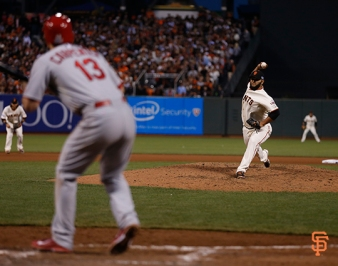 San Francisco Giants, S.F. Giants, photo, 2014, NLCS, Yusmeiro Petit