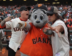 San Francisco Giants, S.F. Giants, photo, 2014, NLCS, Metallica