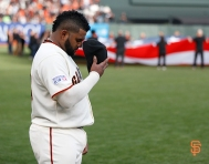 San Francisco Giants, S.F. Giants, photo, 2014, NLCS, Pablo Sandoval