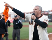 San Francisco Giants, S.F. Giants, photo, 2014, NLCS, Joe Montana