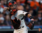 San Francisco Giants, S.F. Giants, photo, 2014, NLCS, Buster Posey