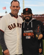 San Francisco Giants, S.F. Giants, photo, 2014, NLCS, Robb Nen, Sergio Romo