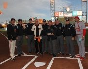 San Francisco Giants, S.F. Giants, photo, 2014, NLCS, Ron Wotus, Joe Montana