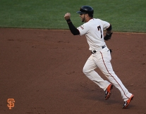San Francisco Giants, S.F. Giants, photo, 2014, NLCS, Gregor Blanco