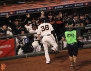 San Francisco Giants, S.F. Giants, photo, 2014, NLCS, Michael Morse