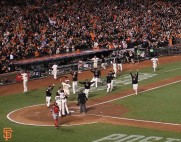 nlcs clinch, sf giants, october 16, 2014, photo