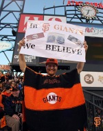 San Francisco Giants, S.F. Giants, photo, 2014, Fans, NLDS