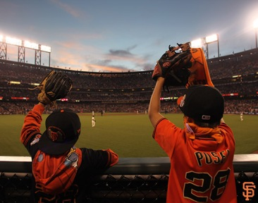 San Francisco Giants, S.F. Giants, photo, 2014, Fans, NLDS