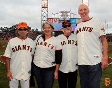 Mickey Hart, Trixie Garcia, Bill Kreutzmann and Bill Walton