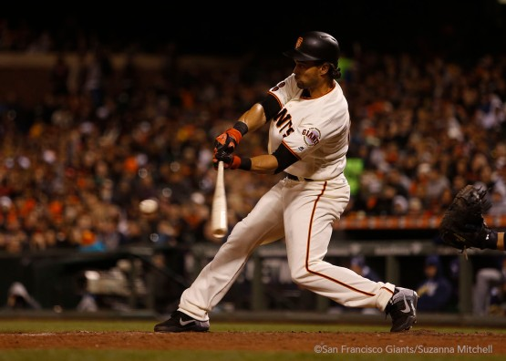 Angel Pagan had three hits and two RBI.