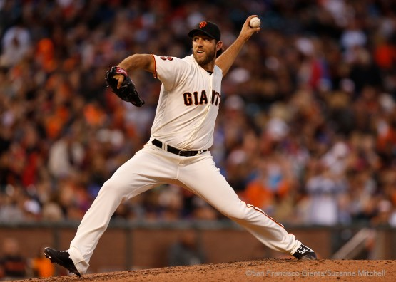 Madison Bumgarner pitched six innings.