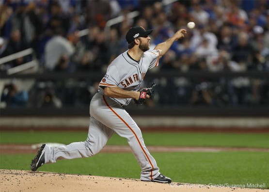 Madison Bumgarner pitched a complete game shutout.