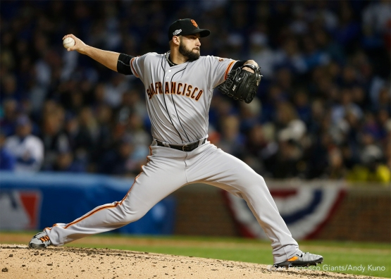 George Kontos pitched the third and fourth innings.